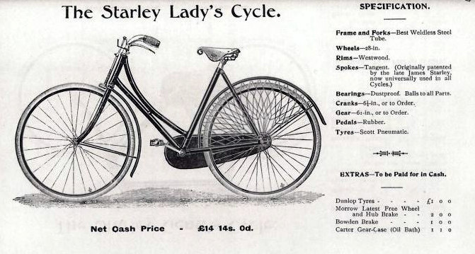 rower starley lady's cycle